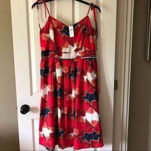 Ann Taylor Factory Size 10 Spaghetti Strap Dress